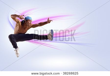 ... with arrow pointing to right. 3d illustration. Isolated background