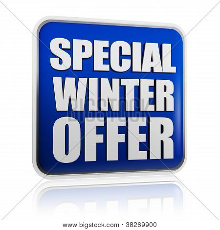 Special Winter Offer Banner