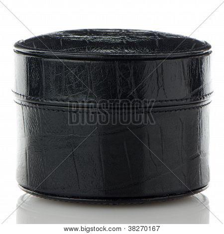 Black Leather Jewelery Box