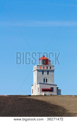 Solitary lighthouse