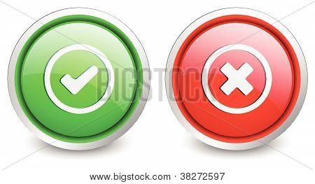 2 popular buttons - checkmark