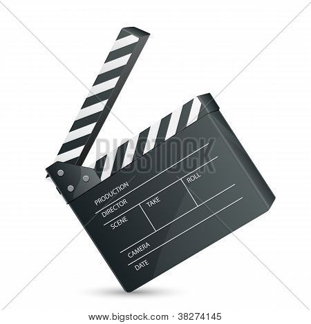 Filmset Clapper