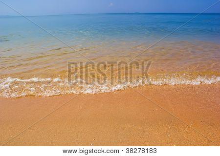 Sand And Beach In Pattaya