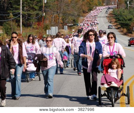 Making Strides Against Breast Cancer