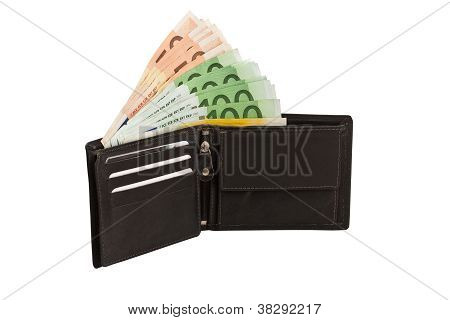Money In Leather Purse