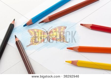 Triangular Color Pencils