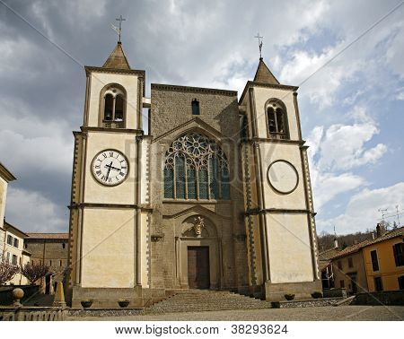 Church Of San Martino Al Cimino. Lazio. Italy.