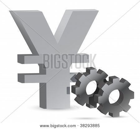 Yen Gears Illustration