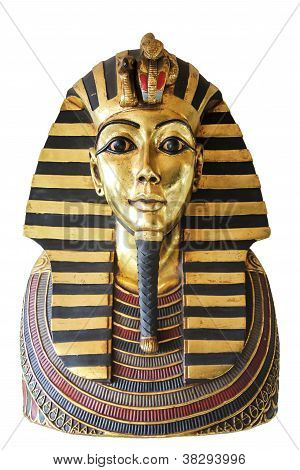 Egyptian King Tut Golden Death Mask
