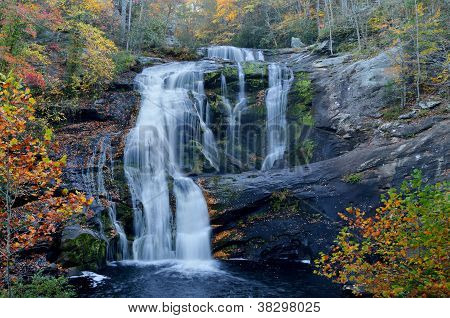 Bald River Falls In October, Tellico Plains, Tn Usa