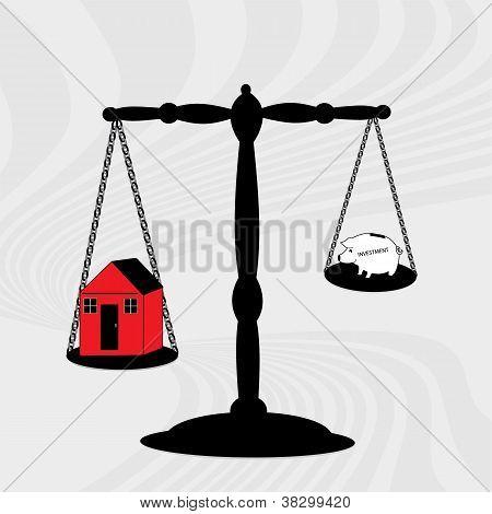 Inversiones de la casa de escala