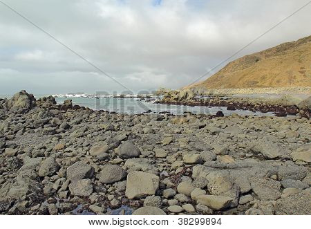 Rocky Beach On The Lost Coast Of California