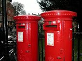Postboxes poster