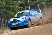 Subaru Impreza Rally Car