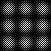 Seamless White Dots on Black