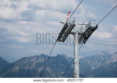 ropeway pillar