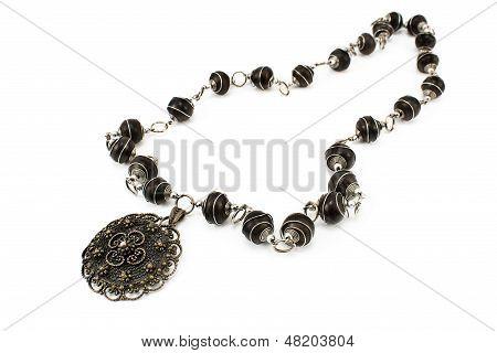 Black Metal Necklace