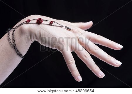 Female Hand Monile