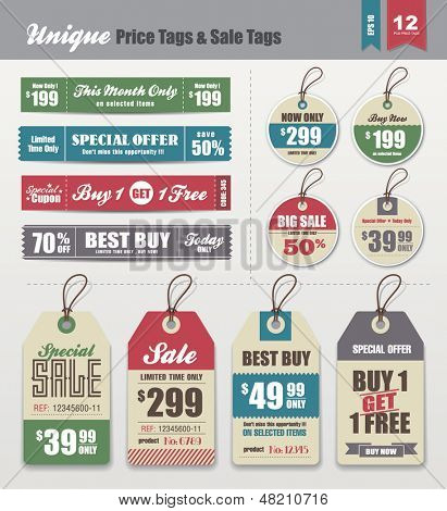 Sale Tags & Price Tags Collection