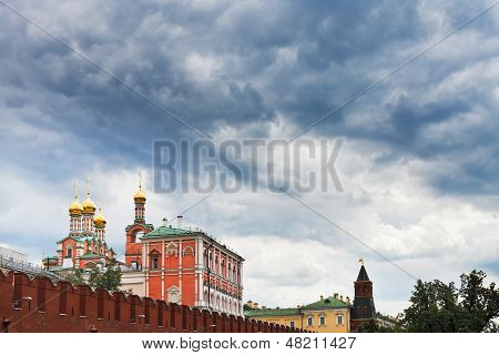 Rain Clouds Over The Kremlin