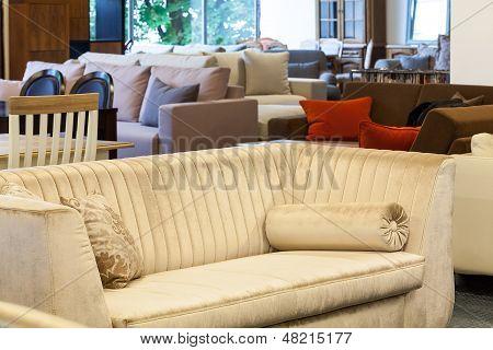 Ecru Couch