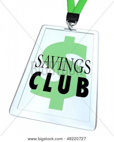 Ahorrar más y gastar menos con una tarjeta de identificación de placa o descuento de Club de ahorros para ir de compras y