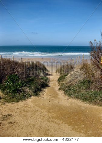 Fistral Beach Path