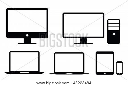 Black flat UI design element icon vector eps10