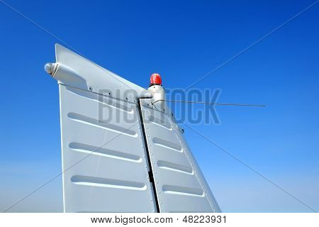 Vertical Stabilizer and Rudder