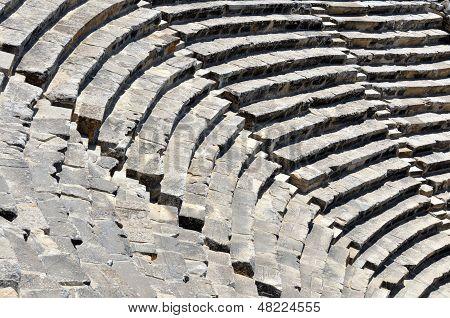 Hierapolis Amphitheater Detail
