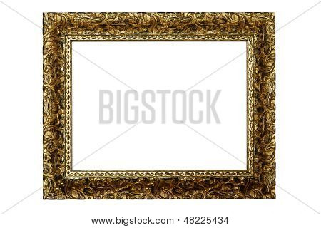 White Rectangle In A Frame