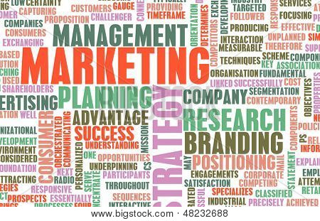 Marketing Management and Key Selling Points Art