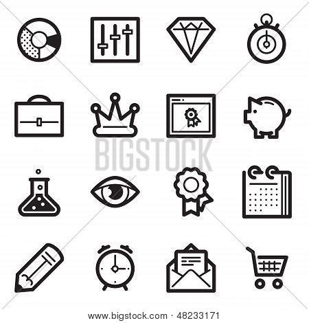 SEO & Internet Marketing Icons Set 3 - Simpla Series