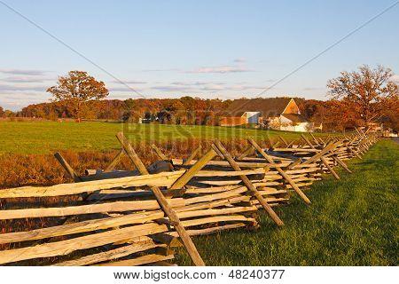 Farmstead At Gettysburg