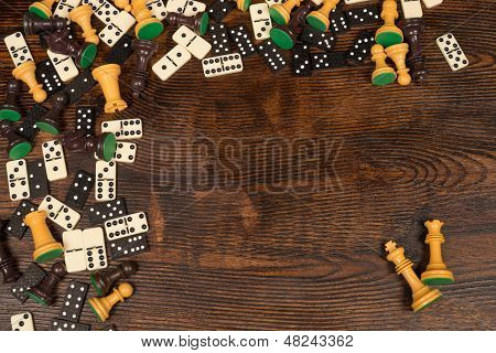 Board Games Still Life