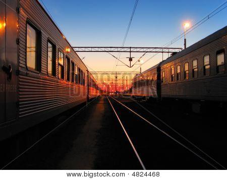 Railroad Morning
