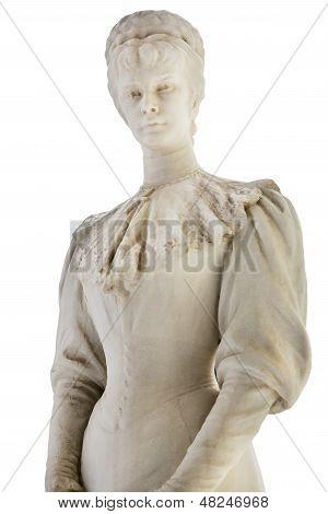 Statue of the former Austrian empress Elisabeth