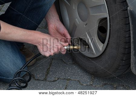 Tyre Pumping