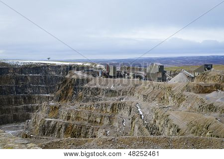 Working Stone Quarry