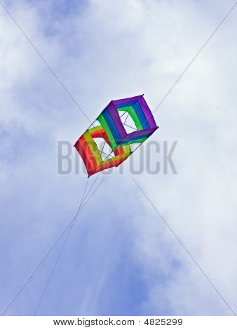 Box Kite Blue Skies