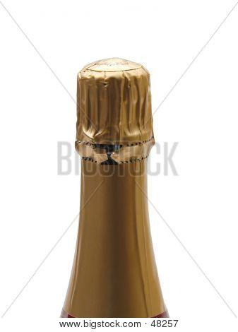 Cuello de botella de Champagne