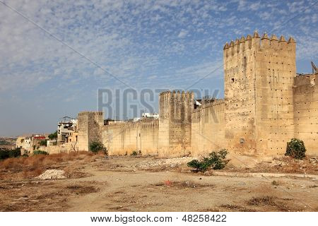Fortified Wall Of Fes, Morocco