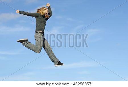 Fun and jump