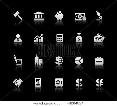Business & Finance Icons // Silver Series