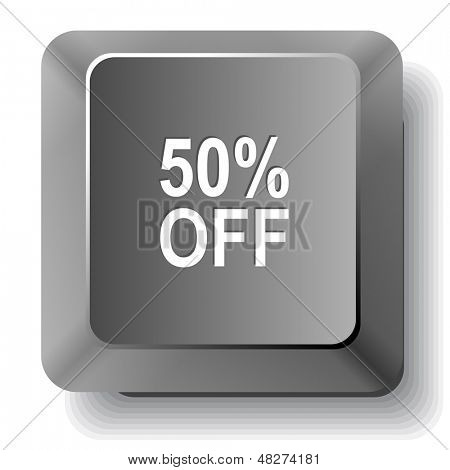 50% OFF. Raster computer key.