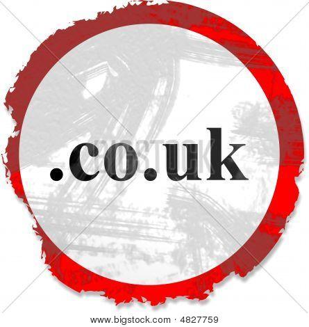 Grunge Domain Sign