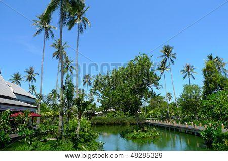 The beautiful Anantara Phuket Villas hotel in