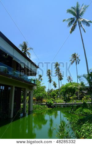 The beautiful Anantara Phuket Villas hotel in Thailand