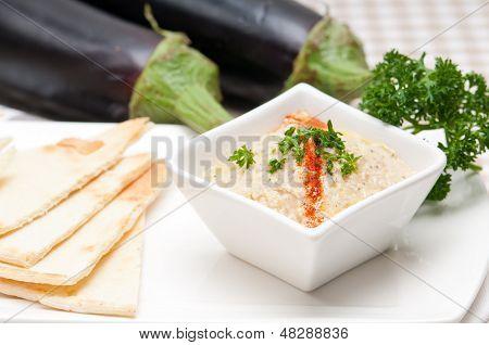 Moutabal Baba Ghanoush Eggplant Dip