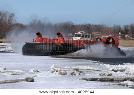 Canadian Coast Guard Hovercraft